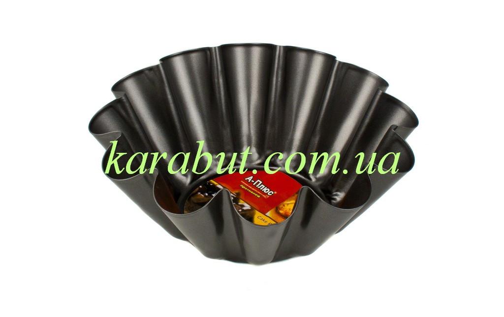 Форма для выпечки кекса волнистая D24см h8.5см