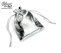 Подарочный мешочек серебро упаковка