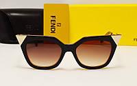 Женские солнцезащитные очки Fendi FF0060/S Коричневый цвет