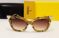 Женские солнцезащитные очки Fendi FF0060/S Цвет комбинированный