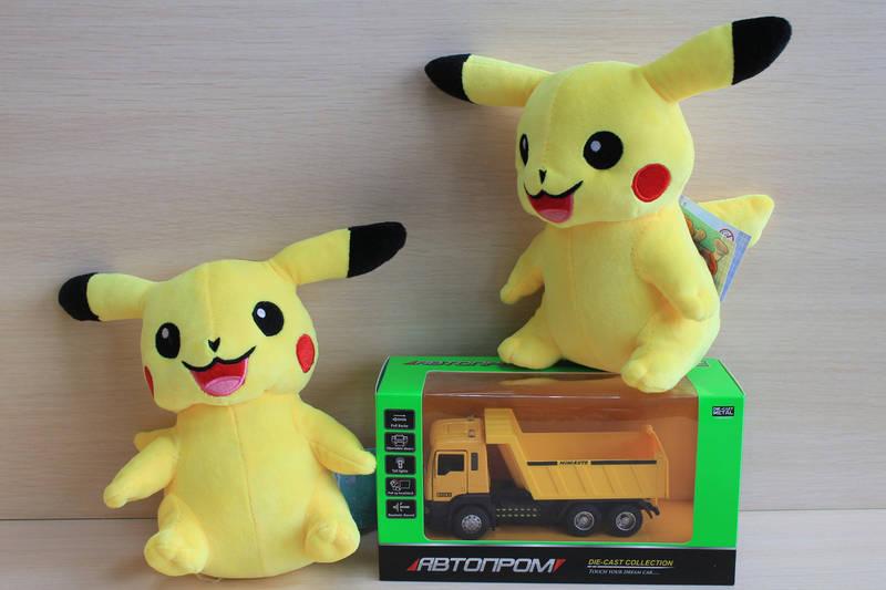 Пикачу покемон, мягкая игрушка 19 см тм Копиця, фото 1