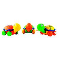 """Заводные черепашки """"Naughty Little Turtle"""". 12шт в упаковке. 3 цвета: желтый, зеленый, оранжевый."""