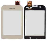 Сенсор (тачскрин) для Nokia С2-02 gold Original