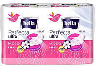 "Прокладки ""Bella"" Ultra Perfecta Rose deo fresh 4к (10шт)/-918/36"