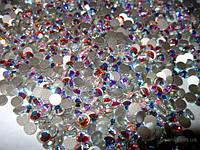 Стразы аналог сваровски ( хамелион) 1440 шт стекло