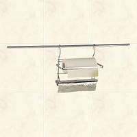 Держатель для фольги и бумажного полотенца на рейлинг