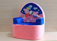 Детское кресло Свинка Пеппа производитель Копиця