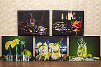 "Модульная картина ""Бар"". Украшение кухни, бара, кафе."