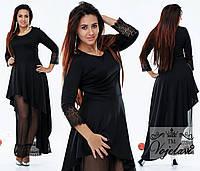 Женское модное вечернее платье ОА 402(бат)NW