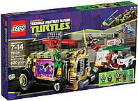 Lego Черепашки-Ниндзя 79104 Преследование на грузовике Черепашек