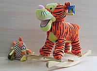 Музыкальная качалка Тигр размер 64*52*26 см