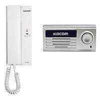 Комплект аудиодомофона Kocom KDP-601A + KC-MD10