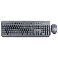 Комплект Беспроводная клавиатура + мышь GREENWAVE NANO 810 SET, BLACK