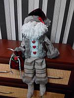 Санта Клаус с колокольчиком ручной работы 1NS