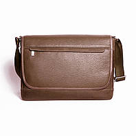 Кожаная мужская сумка Issa Hara BМ5 коричневая