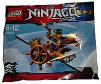 Конструктор лего ниндзяга Lego ninjago Самолет Скайбаунда 30421