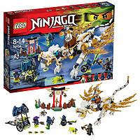 Конструктор лего ниндзяга Lego ninjago Дракон Мастера Ву 70734