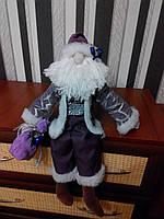 Санта Клаус с колокольчиком ручной работы 2NS