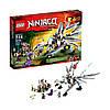 Конструктор лего ниндзяга Lego ninjago Титановий дракон 70748