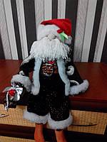Санта Клаус с колокольчиком ручной работы 3NS