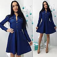 Женское джинсовое платье ВГ 434NW