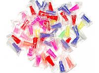 Мундштук одноразовый для кальяна 100 штук Разноцветные