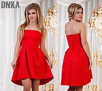 Вечернее платье с корсетом ДГс 413.3NW