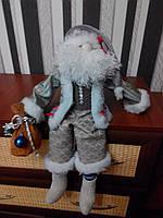 Санта Клаус с колокольчиком ручной работы 6NS