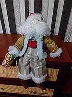 Санта Клаус с колокольчиком ручной работы 8NS