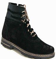 Ботинки женские зима большие размеры, женская обувь больших размеров от производителя модель М14И98В-2