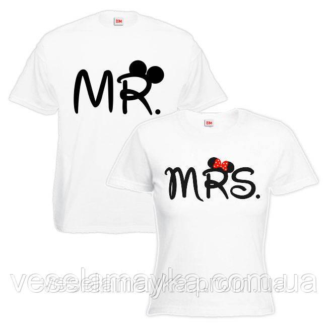 "Парная футболка ""Микки и Мини Маус (Micky and Minnie Mouse)"""