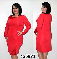 Стильное  женское платье батал с 48 по 56 размер