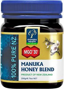 Мед Манука 30+ и цветочный (50%-50%) Manuka Health, 250г