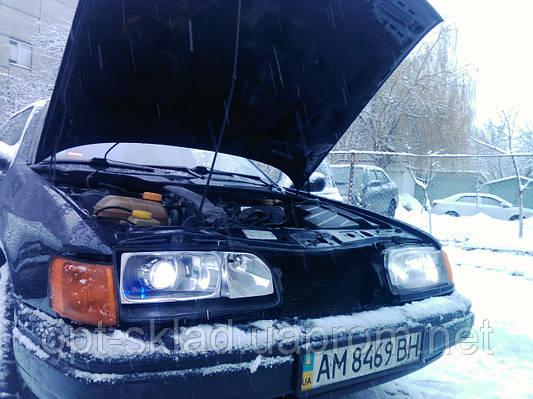 Установка линз в фары Ford Scorpio ( форд скорпио)