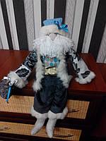 Санта Клаус с колокольчиком ручной работы 10NS