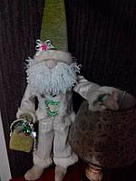 Санта Клаус с колокольчиком ручной работы 11NS
