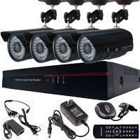 Регистратор видеонаблюдения DVR 6404 4 камеры 4-канальный регистратор