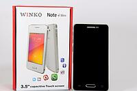 """Смартфон Note4 mini 3.5"""" Black 1н емкостный экран, мобильный телефон vinko, сенсорный телефон на 2 Sim карты"""