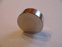 Неодимовый магнит.шайба D30xH10 N38