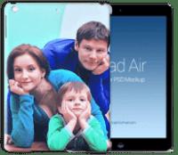 Чехол с фото для Apple iPad Air