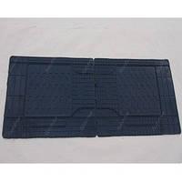 Коврики резиновые 2/3 ряд сидений черные CLASSIK  (2шт) 1460х430mm 53211