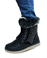 Ботинки женские, сапоги Зимние, полусапожки на тёплом меху