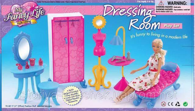 Мебель для кукол Прихожая со шкафом 2909 Gloria
