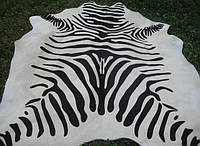 Шкура коровы стилизированая «шкура зебры белая «
