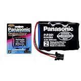 Panasonic KX-A36A  P-P301  3.6V 300mAh