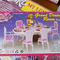 Детская мебель для Барби,столовая