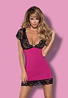 Сексуальная сорочка от Obsessive IMPERIA PINK, фото 1