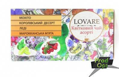 Чай Квітковий Асорті LOVARE 24 пакетів, фото 2