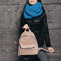 Бежевый рюкзак, фото 1
