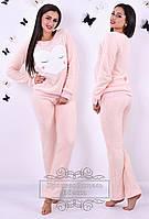 Женский теплый махровый костюм 2061NW